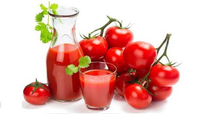 Sinh tố cà chua tốt cho nam giới